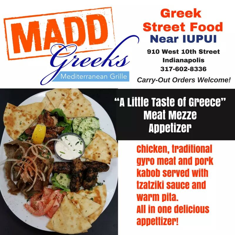 MADD Greeks Meditteranean Grille