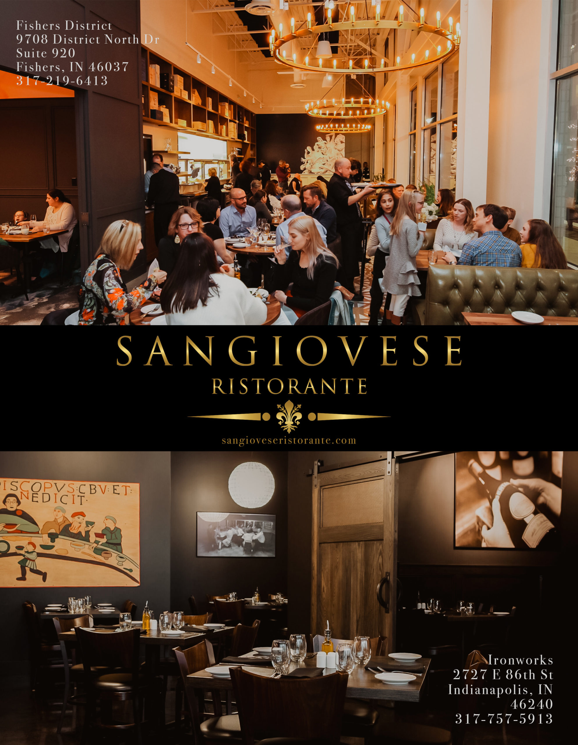 Sangiovese Ristorante – In The Yard at Fishers District